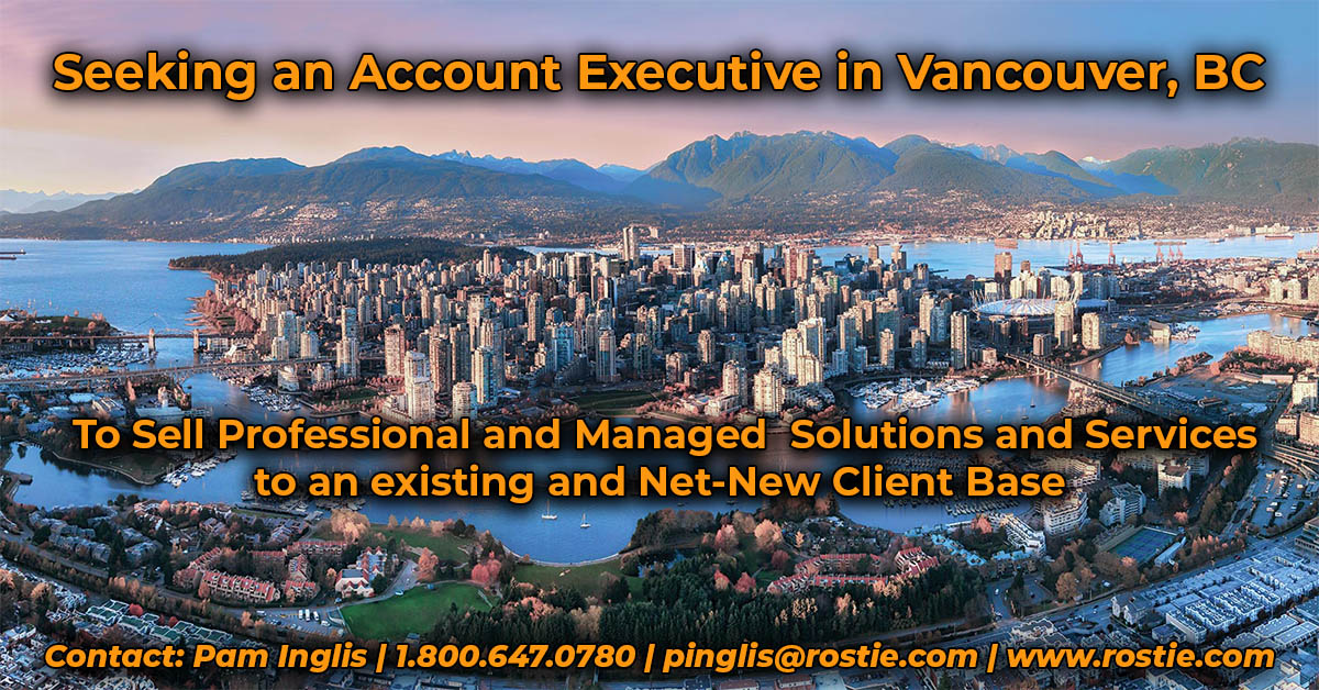 Account Executive job in Vancouver BC