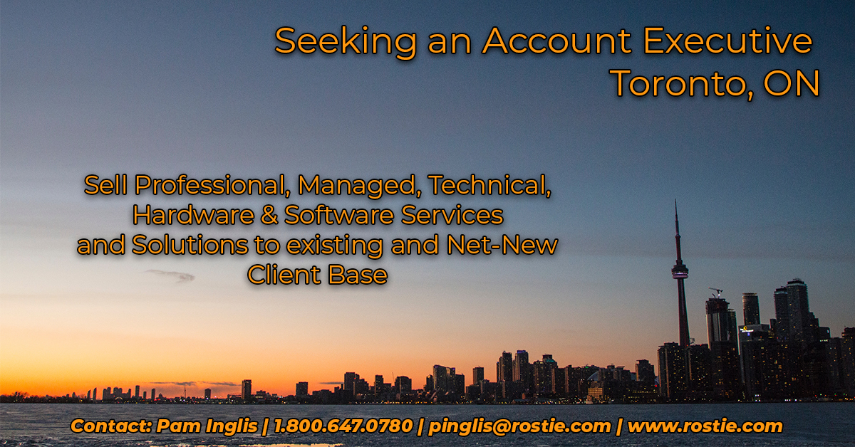 Greater Toronto Area Account Executive Job