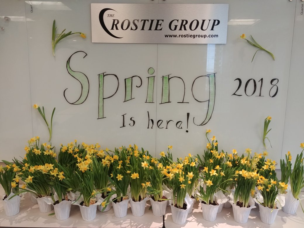 Winter Rostie Group Scoop Spring is Here!