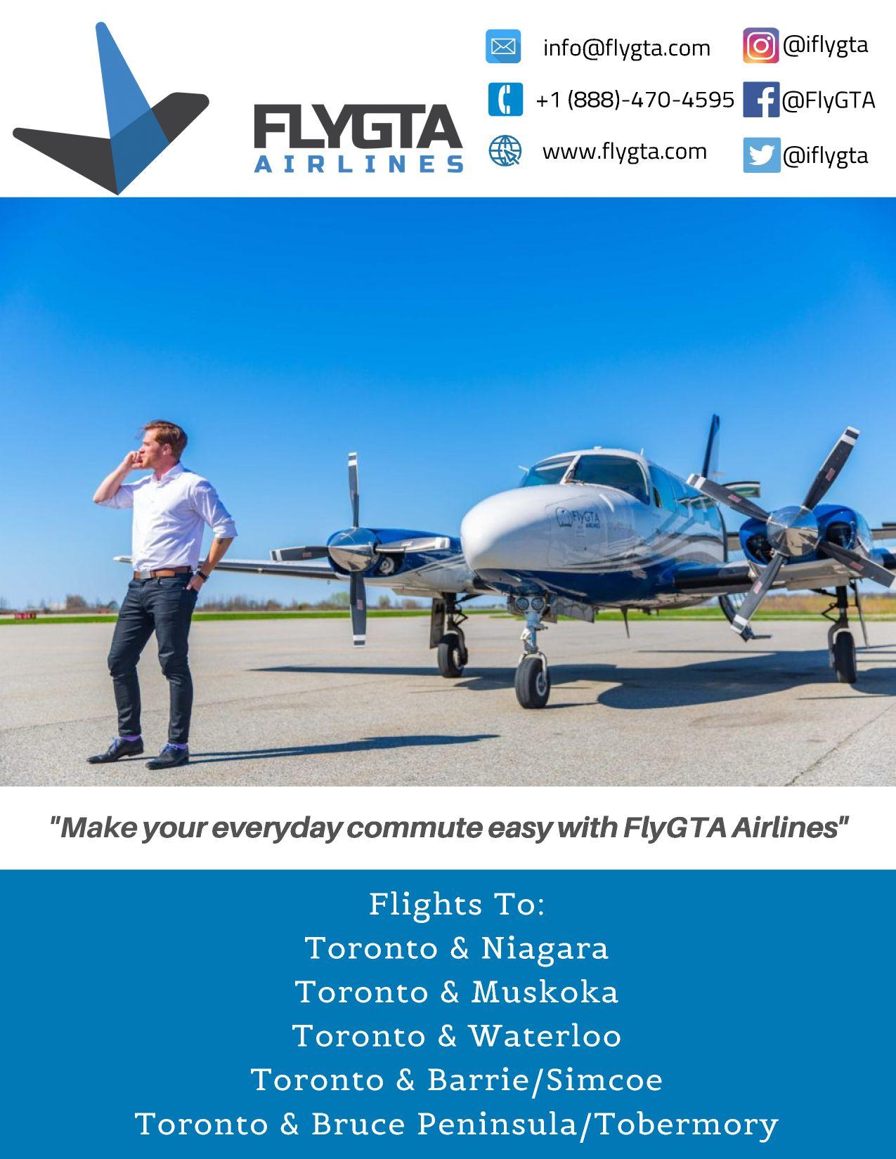 Fly GTA The Scoop Advertisement