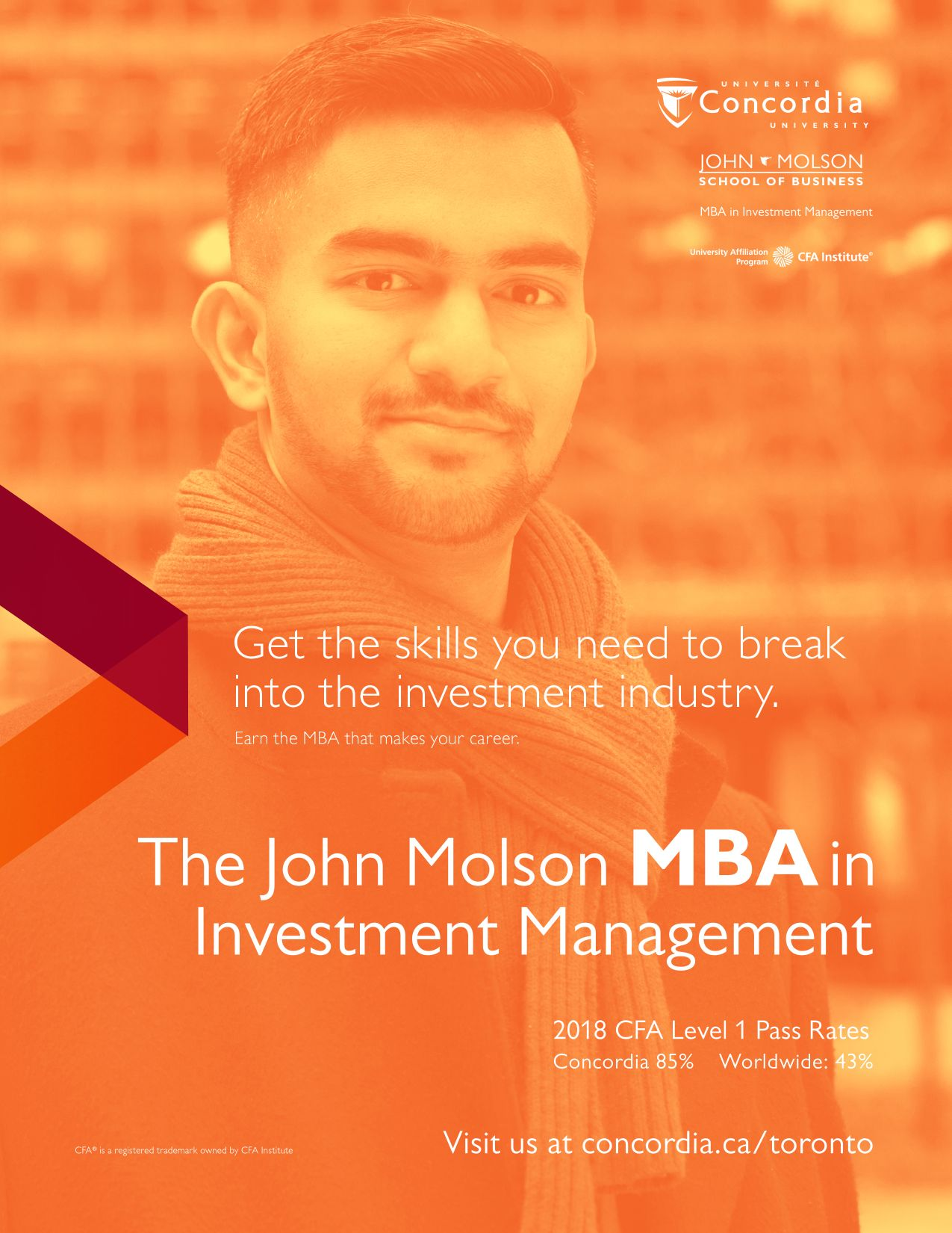 Concordia University John Molson School of Business The Scoop Advertisement