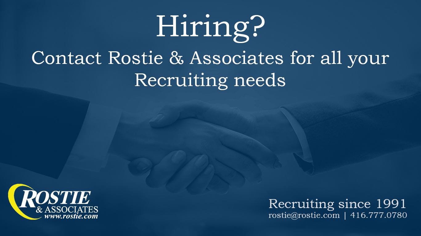 Rostie and Associates Recruiting The Scoop Ad
