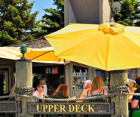 Upper Deck Island Bar