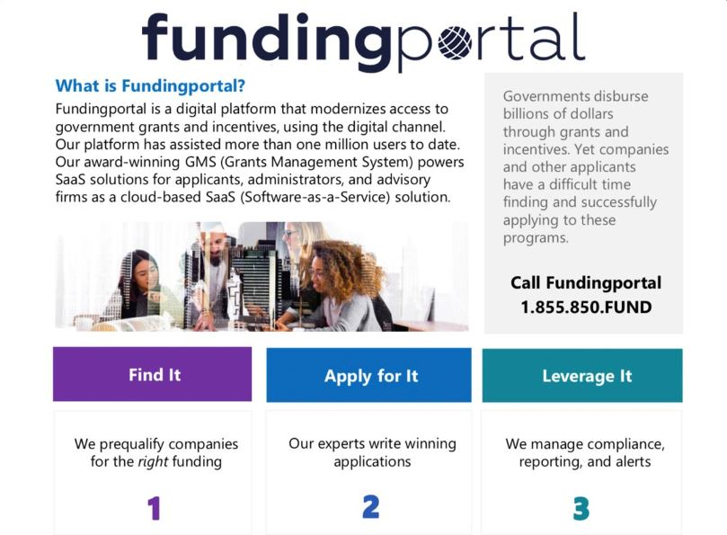 funding Portal The Scoop Ad