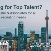 Rostie and Associates Recruiter Advertisement