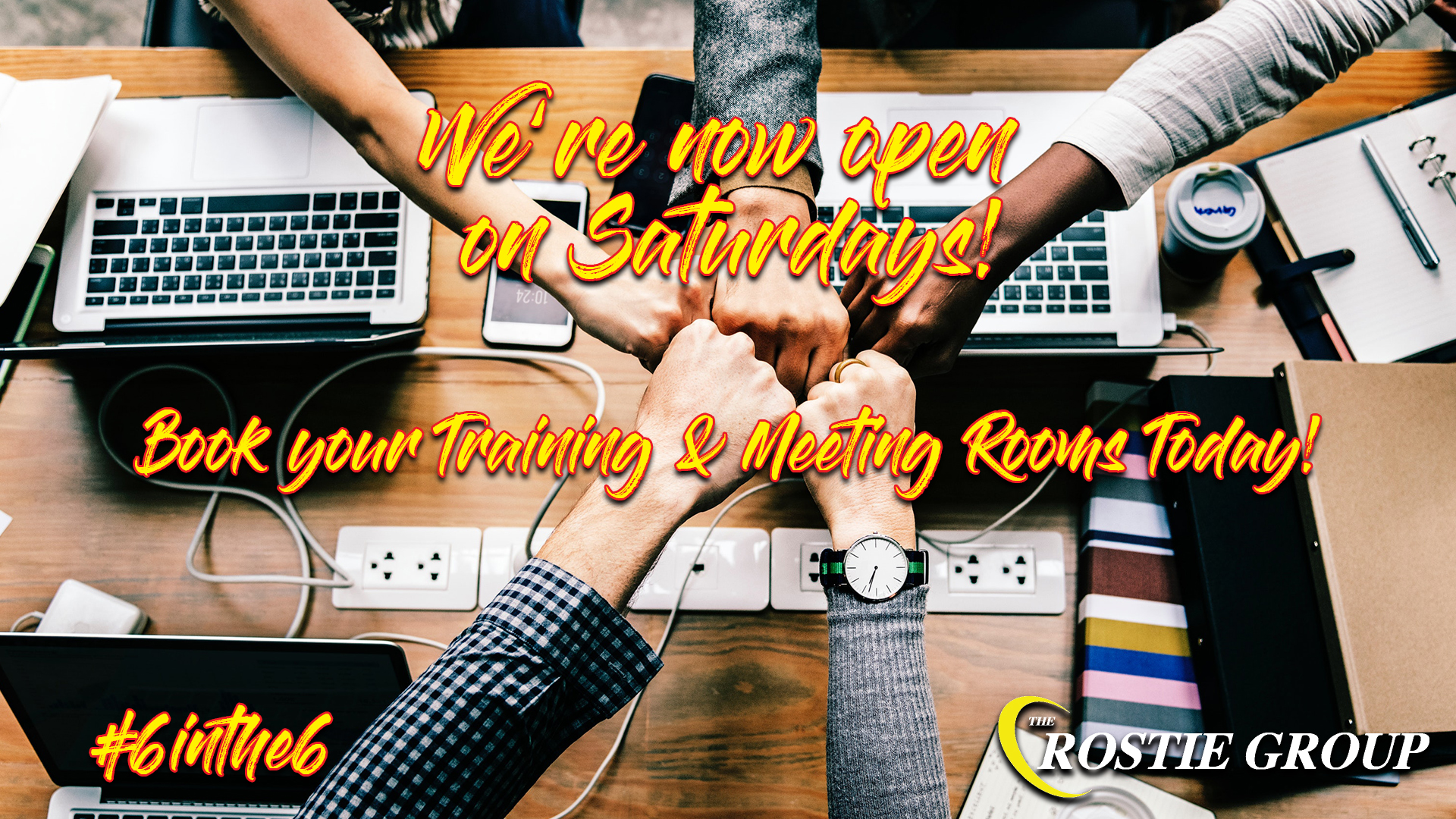 Rostie Group Meeting Rooms Open Saturdays