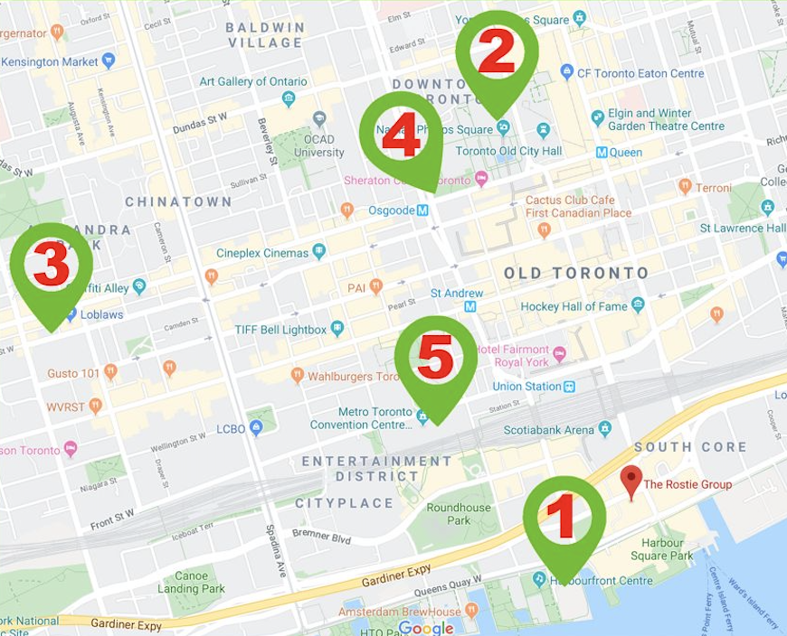 List of events in Toronto in December 02