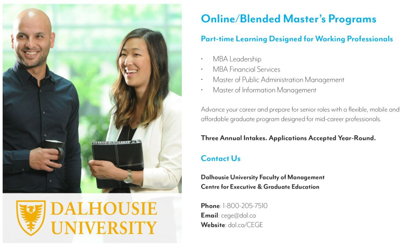 Dalhousie University Scoop December Ad