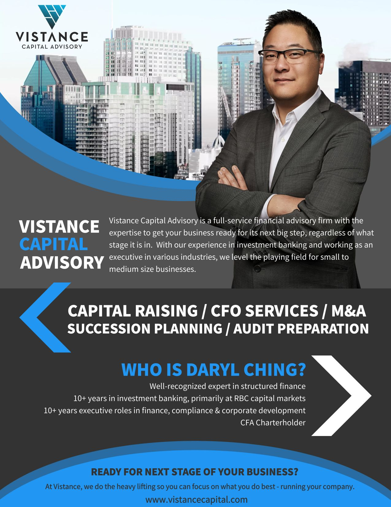 Vistance Capital Rostie Group Scoop Ad