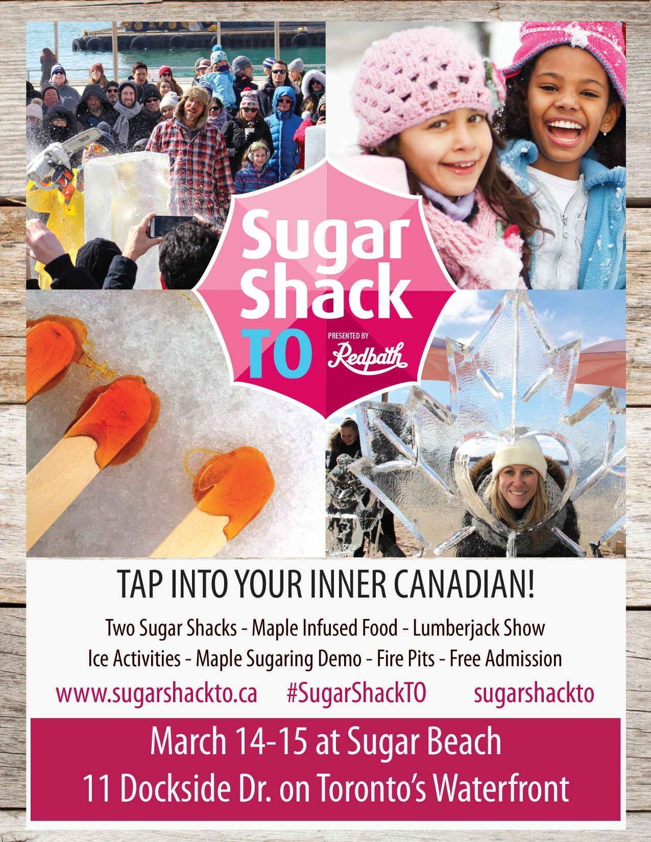 Sugar Shack Event Rostie Group Scoop Ad