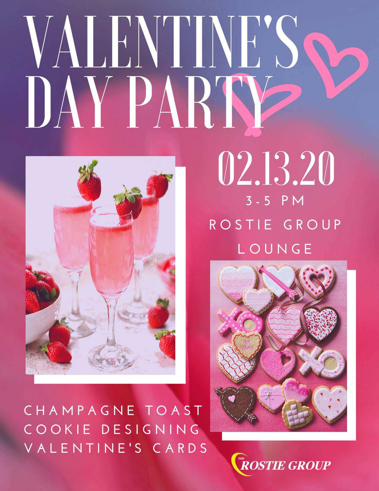 Valentine's Day Rostie Group Scoop Ad