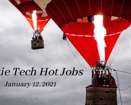 Rostie Tech Hot Jobs: January 12th, 2021