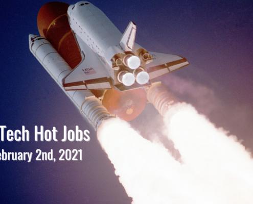 Rostie Tech Hot Jobs: February 2nd, 2021